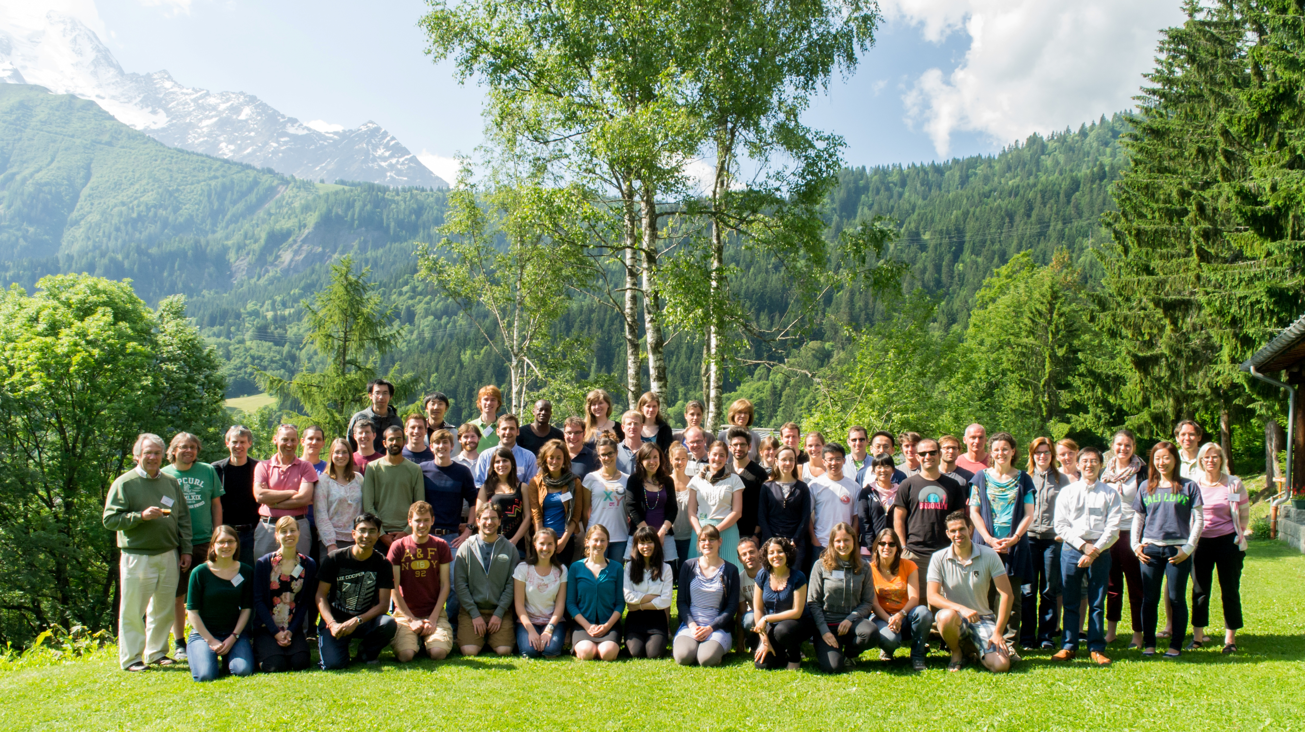 Grouppicture les houches